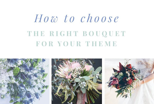 Lovestruck Wedding Invitations | Blog - How to Choose The Right Bouquet for Your Theme