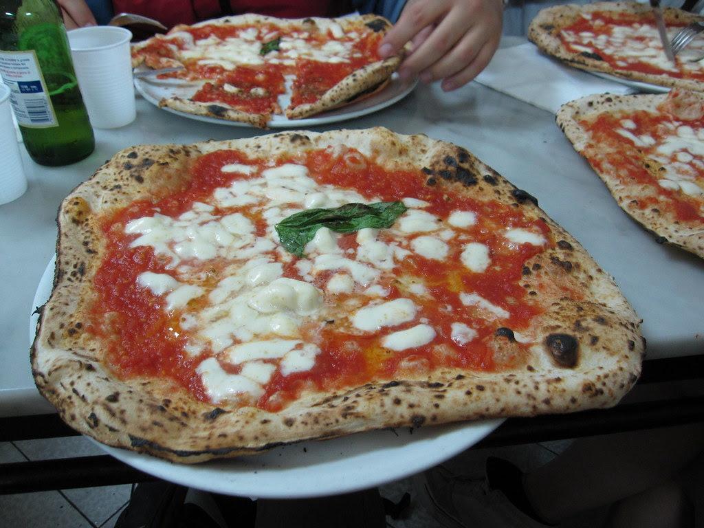 Margherita at Da Michele