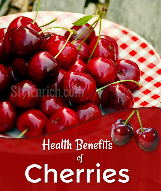 Health Benefits of Cherries That You Never Know Before!