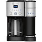 Cuisinart Coffee Center 12 Cup And Single Brew Maker - Silver - SS-15