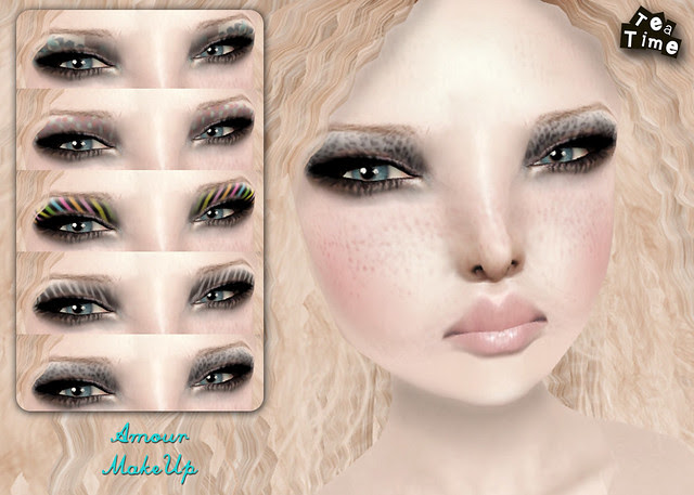 AMOUR MAKE UP *Tea Time* NEW!!