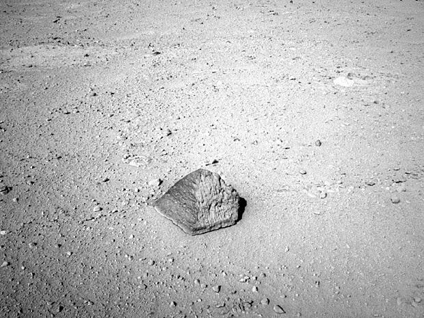 Pirâmide Nasa Curiosity Marte (Foto: Nasa/JPL-Caltech)