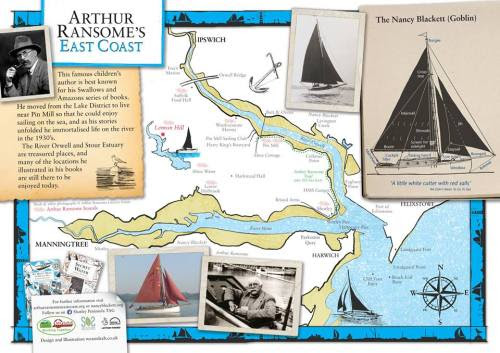 Come along to the Arthur Ransome Jamboree at Pin Mill in Suffolk