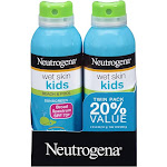 Neutrogena Wet Skin Kids Sunscreen Twin Pack, SPF 70+ - 2 pack, 5 oz bottles