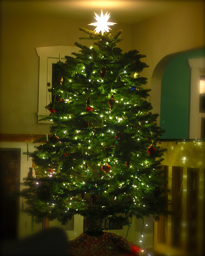 This is the 10th Christmas tree Rob and I have decorated together