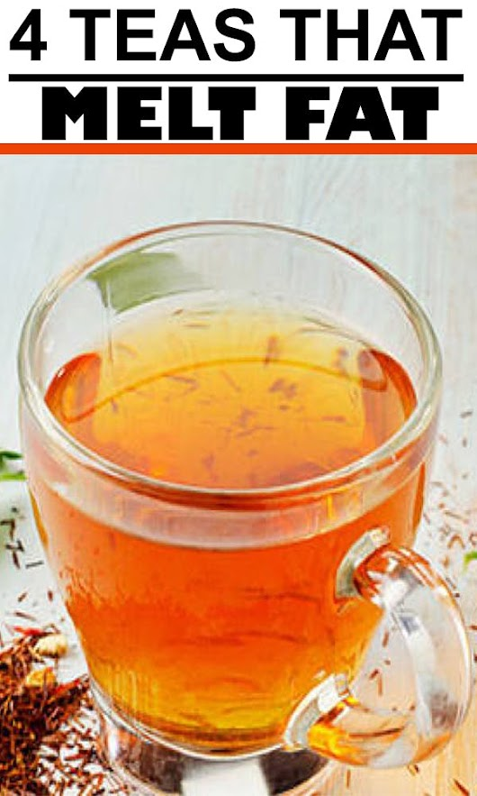 4 Teas That Melt Fat + Free eBook