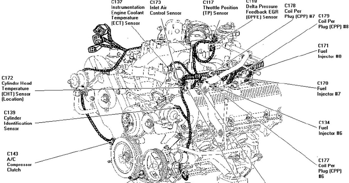 1999 Ford 5 4l Engine Diagram