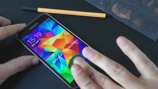 Galaxy S5 fingerprint scanner hacked - Mobile News, Reviews and Security
