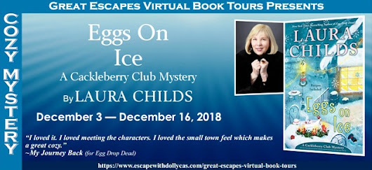 Eggs on Ice by Laura Childs - Guest Post - Brooke Blogs