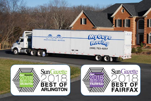 Best Moving Companies - Arlington and Fairfax VA 2018 | My Guys Moving