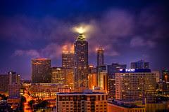 Skyline of Downtown Atlanta