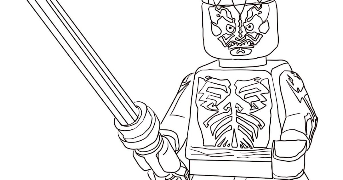 Lego Darth Vader Coloring Pages - Coloring Pages Kids