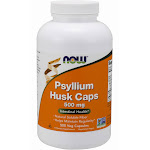 Now Foods Psyllium Husk, 500 mg, Veg Capsules - 500 count