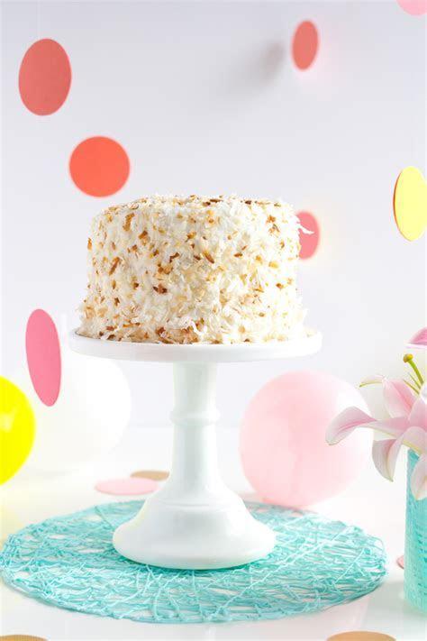 Confetti & Coconut Birthday Cake ? A Subtle Revelry