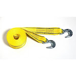 Progrip 30'x2' Tow Strap With Hook Yellow