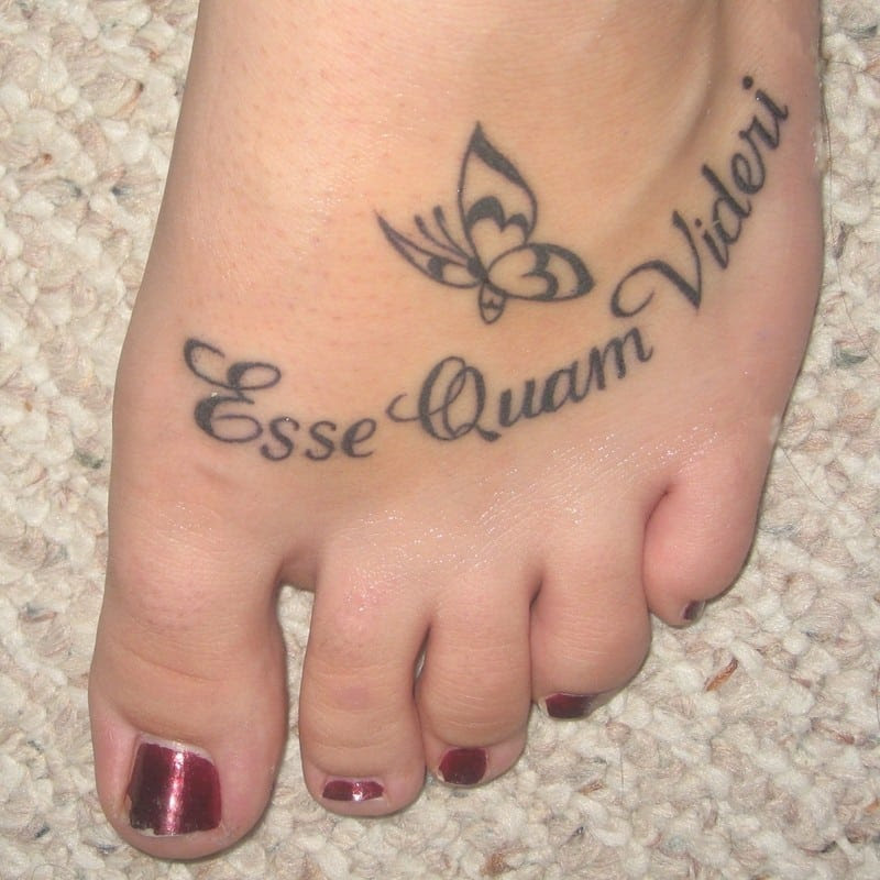 Foot Tattoo Tattoo Bytes