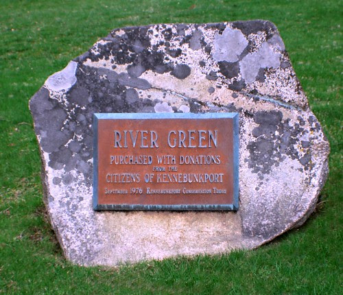 River Green Plaque