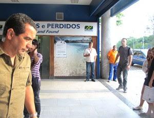 Zinho, Desembarque Flamengo, Rio de Janeiro (Foto: Janir Junior / Globoesporte.com)