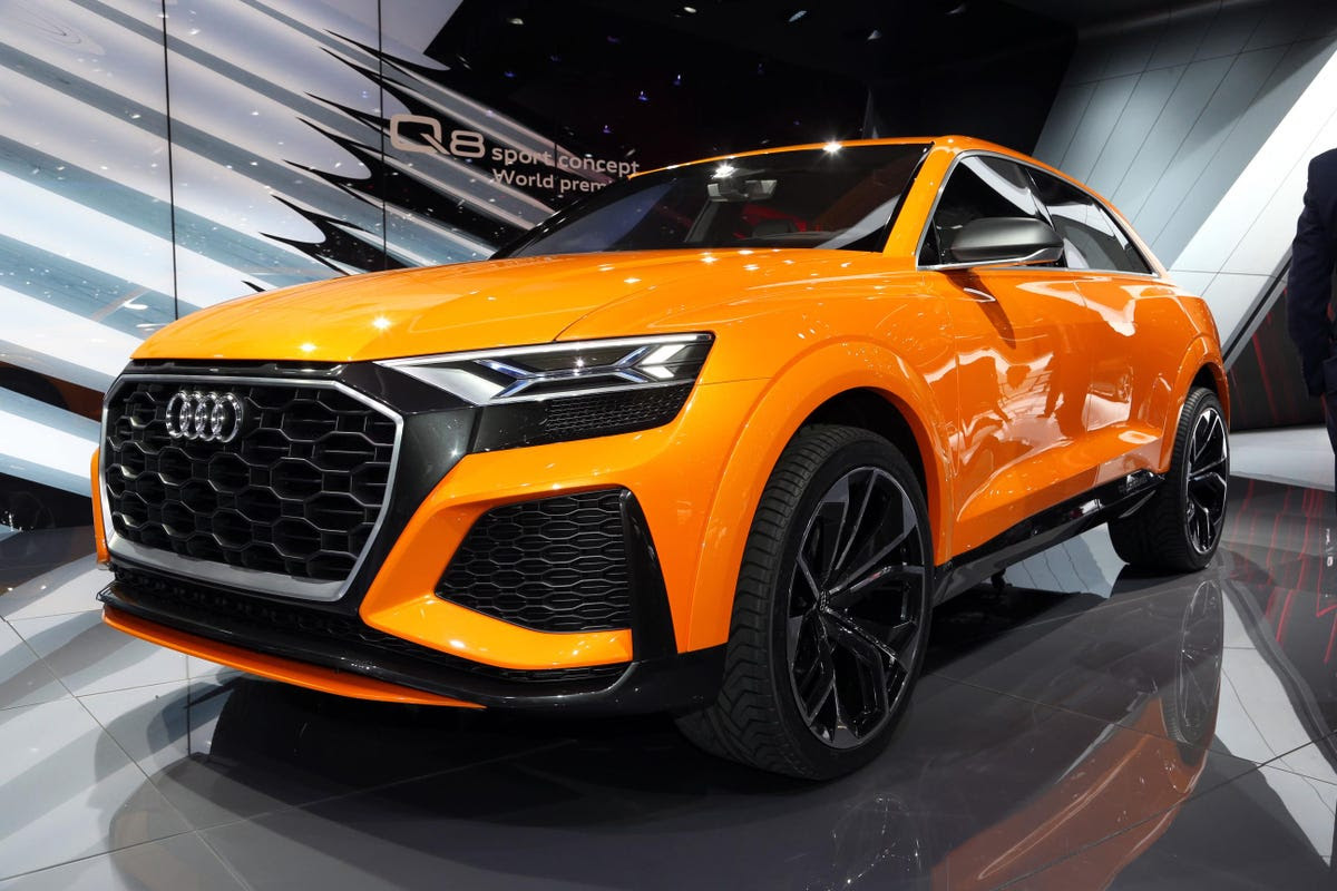 Audi introduced the Q8 Sport Concept hybrid SUV along with ...