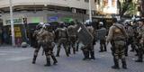 Camelôs e PM se enfrentam no Centro de Belo Horizonte