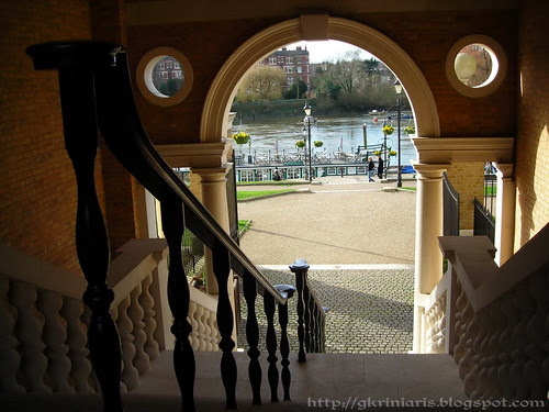 View of Thames from Richmond Open Market