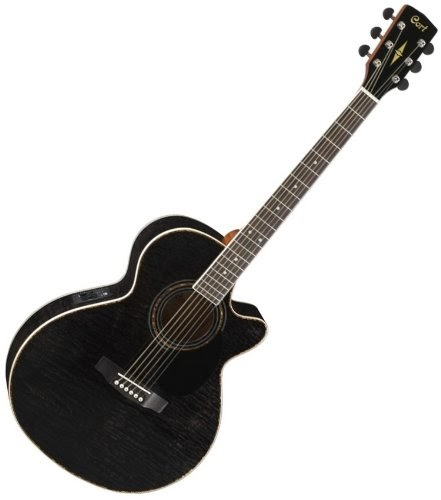 cheap cort sfx series sfx ab tbk trans black acoustic electric guitar low prices acoustic. Black Bedroom Furniture Sets. Home Design Ideas