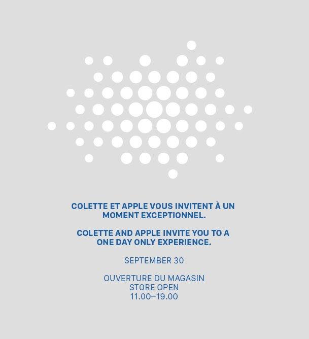 Apple and Colette (invite 001)