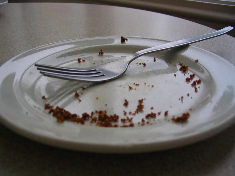 Crumbs saucer fork