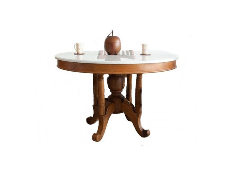 Teak Dining Furniture - Indoor Dining Tables - Kopitiam ...