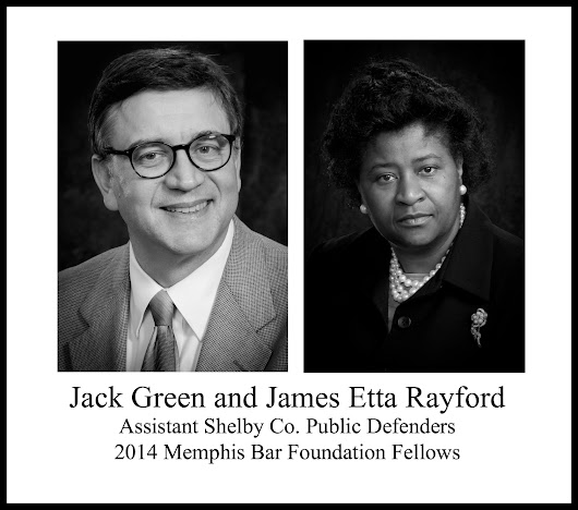 Shelby County Public Defenders Named 2014 Memphis Bar Foundation Fellows