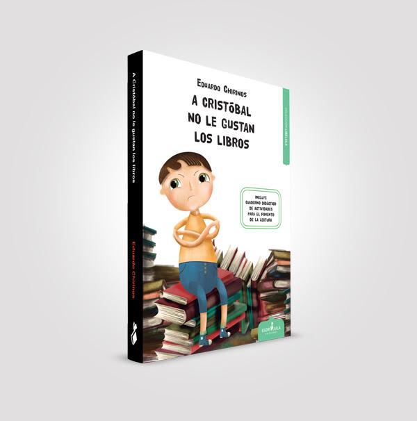 libros, libro juvenil, libro infantil, reseña, reseña literaria, Eduardo Chirinos, A Cristóbal no le gustan los libros, Blog Solo Yo, Blog de Lectura, Solo Yo, Esdrújula Ediciones,