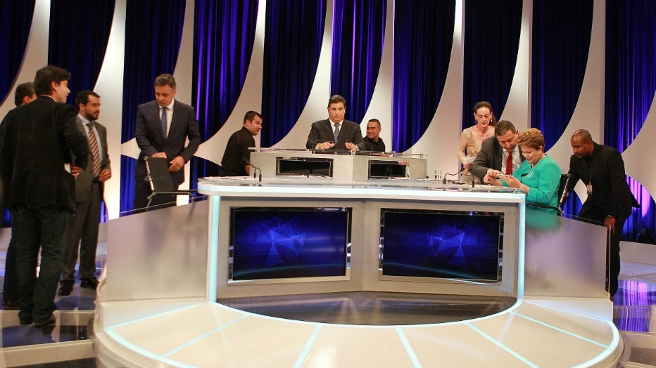 Evelson de Freitas/Estadão - Debate do SBT
