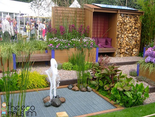 The Eco Muslim at the RHS Flower Show