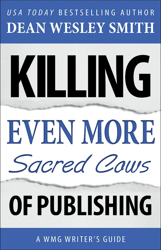 Killing Even More Sacred Cows of Publishing: #3… Getting An Advance to Help You Write Your Book