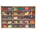 Plaything 30 Tray Storage with Translucent Trays PL586575