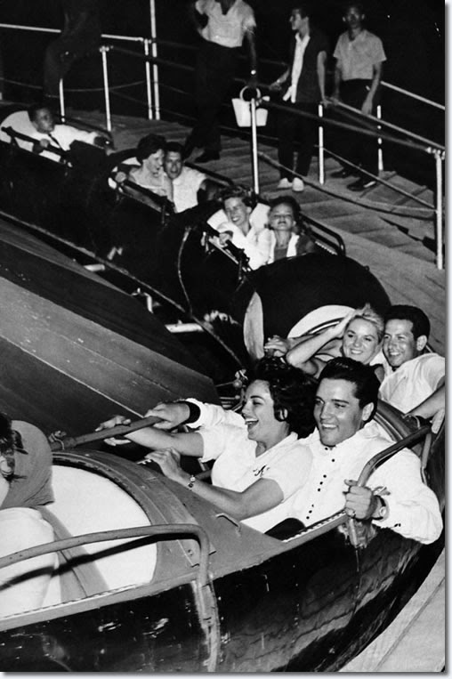 Rollin' in the rocket : Elvis Presley & Anita Wood : July 11, 1960