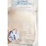 Reusable 100% Organic Cotton facial pad   Arcadia-Designs.com Cornflower 0569980 / 20 pads only