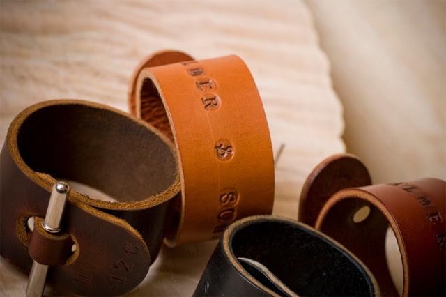 Palmer & Sons Leather Cuffs No 12c 03