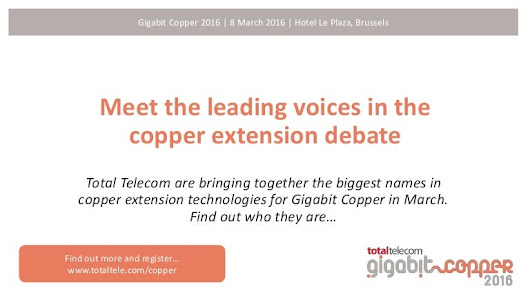 Copper Champions - leaders in the superfast broadband debate
