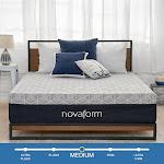 "Novaform 12"" Overnight Recovery Gel Memory Foam King Mattress"