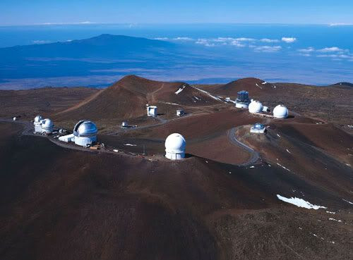 The Mauna Kea Observatories.