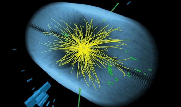 Data from two experiments at the LHC have independently hinted at the existence of a new type of particle. Image: CMS/LHC/CERN