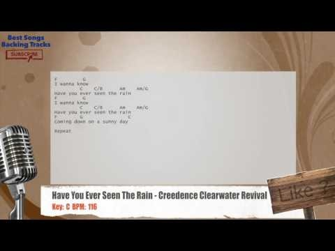 Best Songs Backing Tracks BSBT: Have You Ever Seen The Rain ...