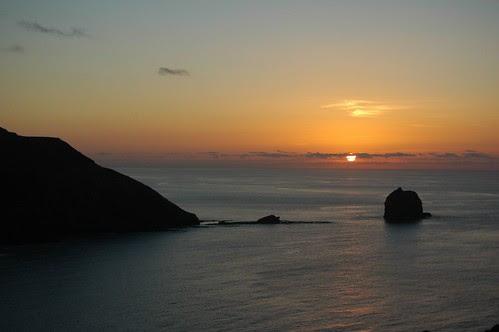 Pôr do Sol no Norte