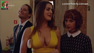 Luciana Paes sensual na serie Amigo de Aluguel