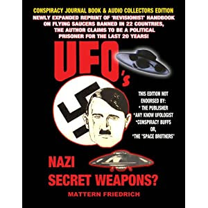 UFOS Nazi Secret Weapon (Book and Audio CD)