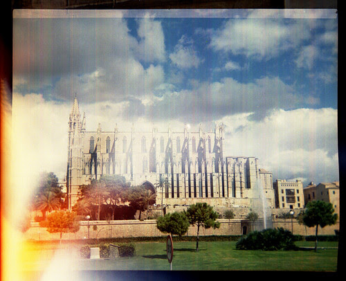 Palma Cathedral with light leaks by pho-Tony