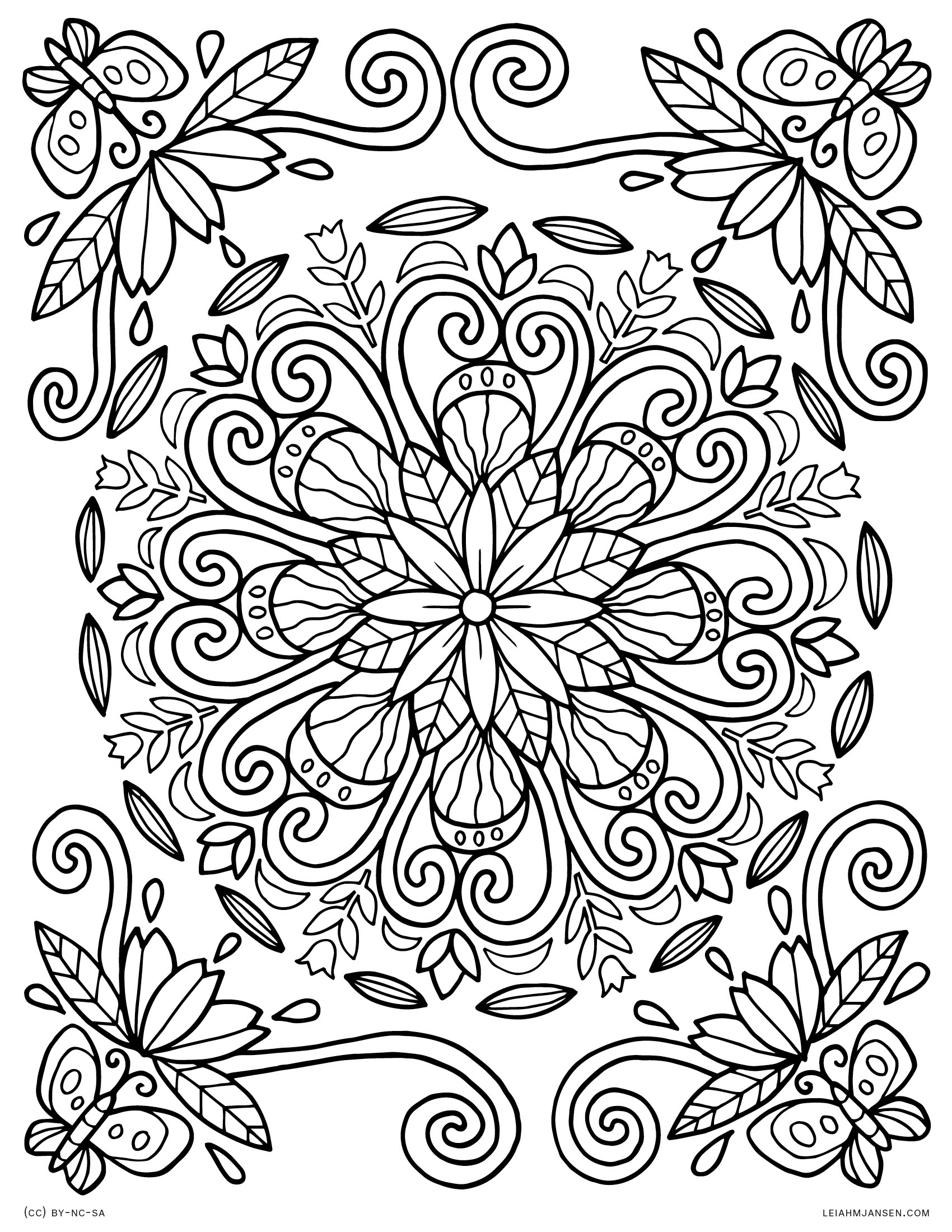 820 Top Free Printable Mandala Coloring Pages For Adults Easy For Free