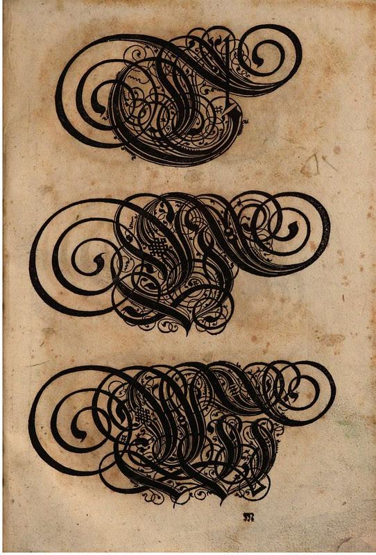 Paulus Franck - 'Schatzkammer Allerhand Versalien Lateinisch vnnd Teutsch', 1601 alphabet e
