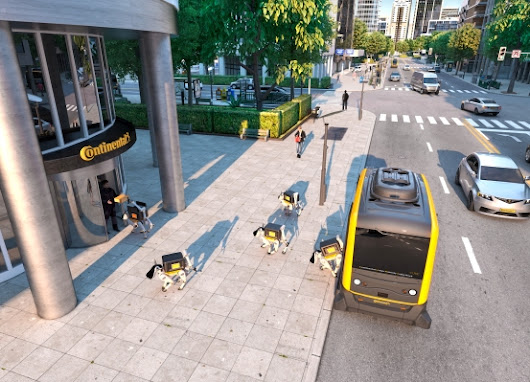 Robot delivery dogs deployed by self-driving cars are coming – TechCrunch
